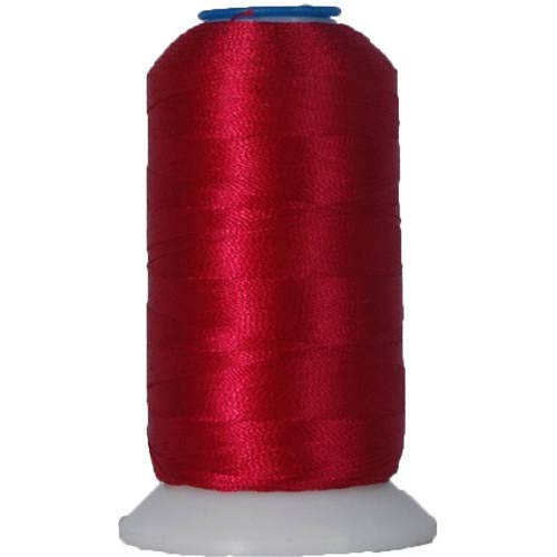 Threadart Polyester Machine Embroidery Thread By the Spool - No. 139 - Russet - 1000M - 40wt - 220 Colors Available