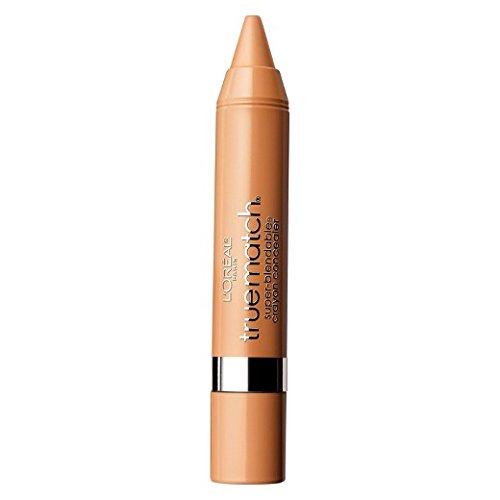 L'Oreal Paris True Match Super Blendable Crayon Concealer, Medium/Deep Warm, 0.1 oz.