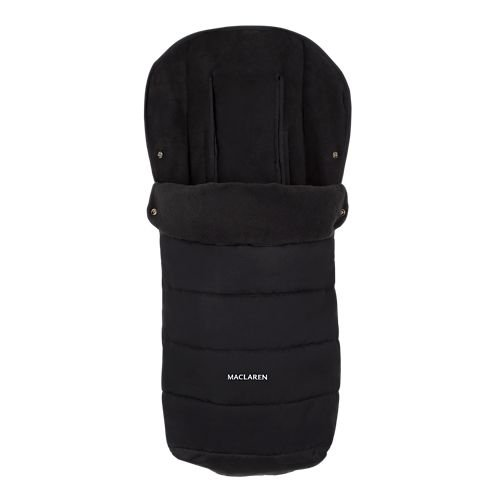 Maclaren Universal Footmuff- Perfect Cold Weather Stroller Accessory. Lined with Soft Fleece Adding Extra Padding to The seat. Easy to Attach on All Maclarens and All Umbrella-fold Stroller Brands.