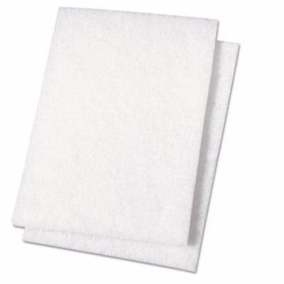 Hemway 2 x White Paint Buffing Pads - for use with Hemway Glitter Paint Additives - Unleashes Thousands More Glitter Crystals