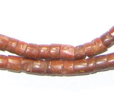 Natural Bauxite Beads - Full Strand of African Stone Beads - The Bead Chest