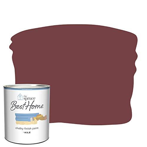 The Spruce Best Home by KILZ 14004 Chalky Finish Paint, 1 Quart, SPR-C02 Heartwarming