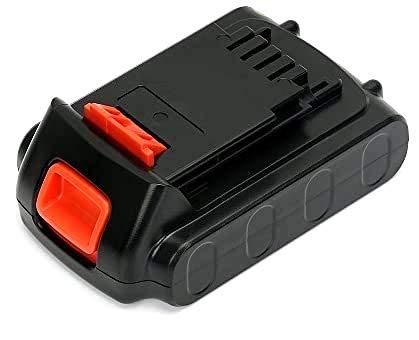 LBXR20 20V Max Lithium Battery, REEXBON LBXR2020 Battery 1.5Ah Replacement for Black and Decker LBXR20-OPE LB20 LBX20 LDX120 LHT2220 LPP120