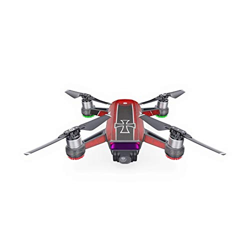 The Baron Decal for Drone DJI Spark Kit - Includes Drone Skin, Controller Skin and 1 Battery Skin