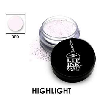 LIP INK Brilliant Magic Makeup Powder - Red | Natural & Organic Makeup for Women by Lip Ink International | 100% Organic, Kosher, Vegan
