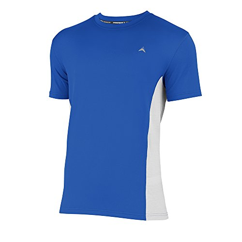 Arctic Cool Men's Crew Neck Instant Cooling Shirt with Mesh Side Panels