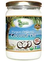 Organic Unrefined Virgin Coconut Oil - Cold Pressed Coconut Oil For Skin, Face, Hair Care, Cooking, Baking, Smoothies - USDA Organic, Non-GMO Coco Oil by Tropical Green Organics - 31 oz