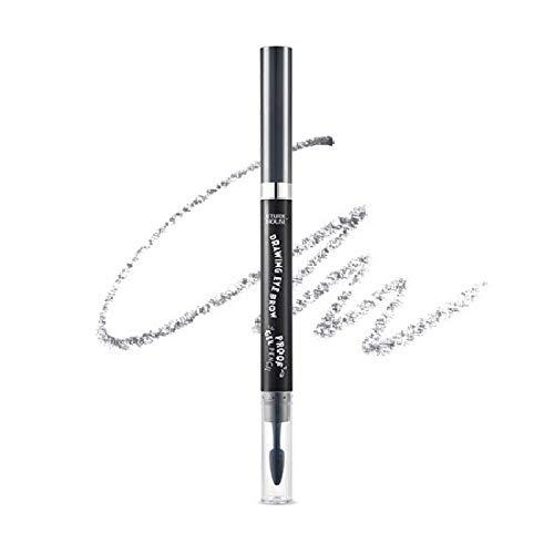 Etude House Drawing Eye Brow Proof Gel Pencil (#06 Dark Grey) | Waterproof Eyebrow Pencil | Natural Eyebrows that Last For a Long Time