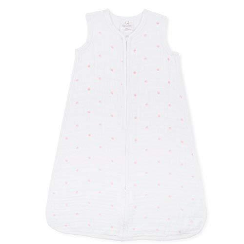aden + anais Sleeping Bag, Lovebird, Pink Water Dot, Medium