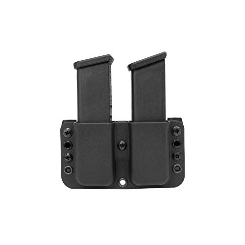Blade-Tech Total Eclipse Double Mag Pouch for 1911, Sig P220, Springfield XDS and More