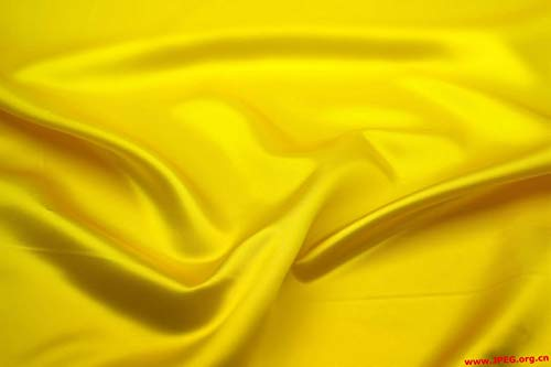 """mds Pack of 10 Yard Charmeuse Bridal Solid Satin Fabric for Wedding Dress Fashion Crafts Costumes Decorations Silky Satin 44"""" Yellow"""
