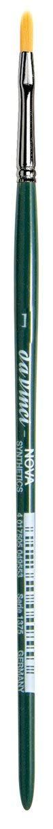 da Vinci Nova Series 1375 Utility Brush, Utility Filbert Synthetic, Size 1