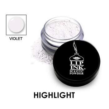 LIP INK Brilliant Magic Makeup Powder - Violet | Natural & Organic Makeup for Women by Lip Ink International | 100% Organic, Kosher, Vegan