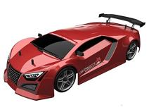 Redcat Racing EPX Drift Car with 7.2V 2000mAh Battery, 2.4GHz Radio and R10215 Body (1/10  Scale), Metallic Red