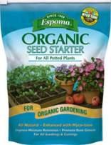 Espoma SS8 8-Quart Organic Seed Starter,Brown