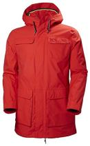 Helly Hansen Men's Captains Waterproof Windproof Hooded Rain Parka Jacket