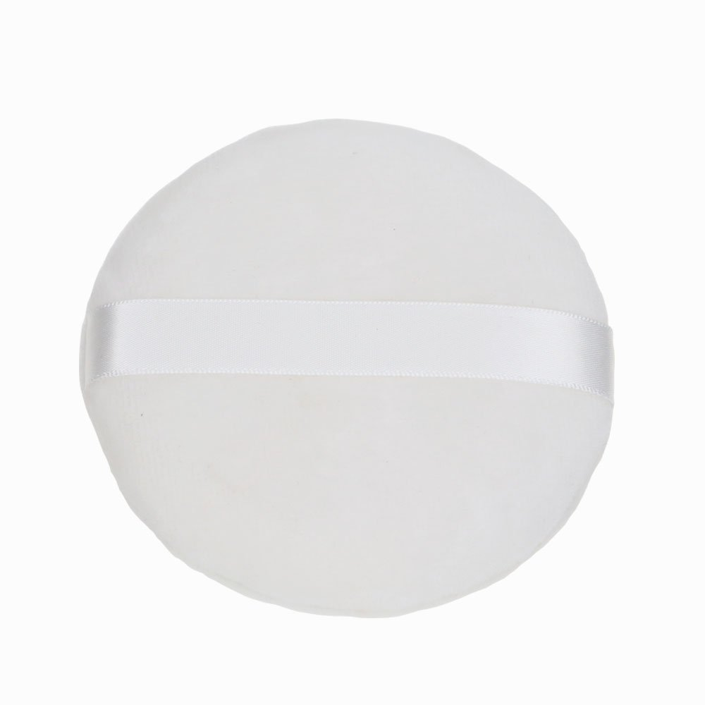 Topwon 4'' Large Loose powder Puff Large Body Puff W Ribbon (10cm) (1 Pc)