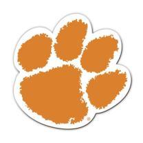 Fremont Die NCAA Clemson Tigers 12 inch Vinyl Magnet