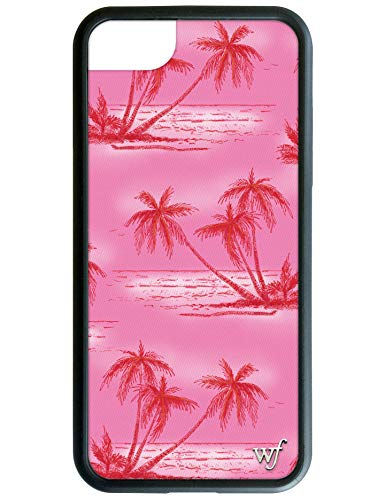 Wildflower Limited Edition Cases for iPhone 6, 7, 8 or SE (Pink Palms)