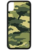 Wildflower Limited Edition Cases for iPhone XR (Green Camo)