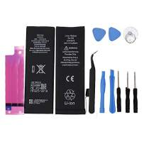1440mAh Battery Model for iPhone 5G 0 Cycle - with Replacement Repair Tool Kits, and Battery Sticker (not for 5SE/5S)