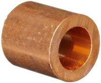 """Loos Cableware ST2-3 Copper Crimping Stop Sleeve Set for 3/32"""" Diameter Wire Rope (50 Piece)"""