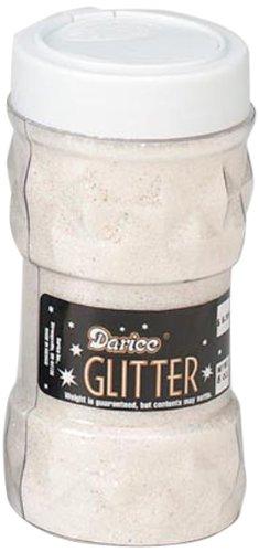 Darice Glitter AB Crystal, 8 Ounce Jar, 8 oz, 6 Each