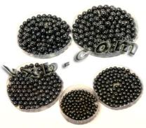 """Pack 500 Piece Assorted Loose Bicycle Bearing Balls 1/8"""", 5/32"""", 3/16"""" 7/32"""" & 1/4"""" inch"""