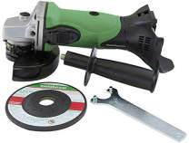 Metabo HPT Angle Grinder, 4-1/2-Inch, 18V Cordless, Tool Only - No Battery, Compatible w/Hitachi/Metabo HPT 18V Lithium Ion Slide-Type Batteries (G18DSLQ4)