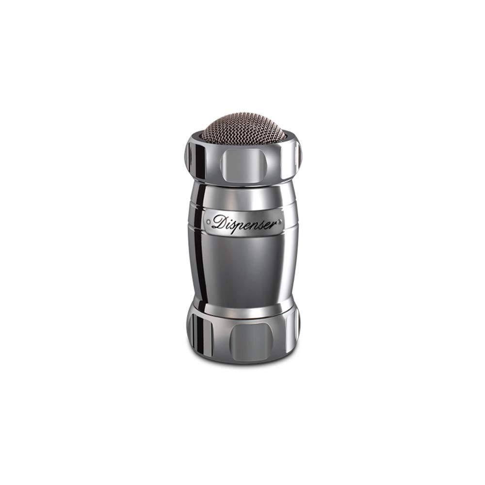 Marcato Design 8344SL Atlas Flour Duster Dispenser Shaker, Made in Italy, 5 x 2.5-Inches, Silver