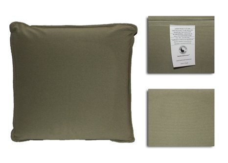 HealthmateForever Pressure Activated Massage Pillow (Sage Green) High Quality Vibrating Massage Pillow for Stiff Neck Relief | Great Lumbar Support Travel Cushion for Back Support on Long Trips | Feel Relaxed with this Relaxation Pillow | Sciatica Nerve Cushion to treat Sciatica Nerve Pain!