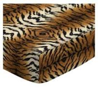 SheetWorld Fitted Crib / Toddler Sheet - Tiger - Made In USA