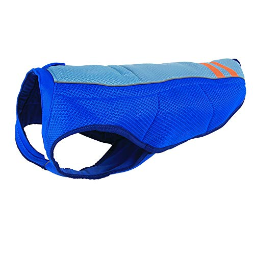 BORUIMA Dog Cooling Vest Lightweight Jacket with evaporative Cooling Microfiber Technology, Cool Vest Summer Cooling Jacket for Small, Medium and Large Dogs (Small)
