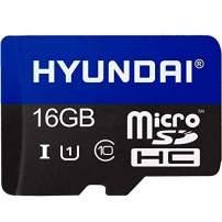 Hyundai Technologies SDC16GU1 Class 10 MicroSDHC Card with Adapter (16GB)