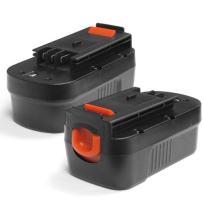 2 x ExpertPower 18v 3000mAh NiMh Battery for Black & Decker 244760-00 A18 HPB18 HPB18-OPE Firestorm A18 FS180BX FS18BX FSB18