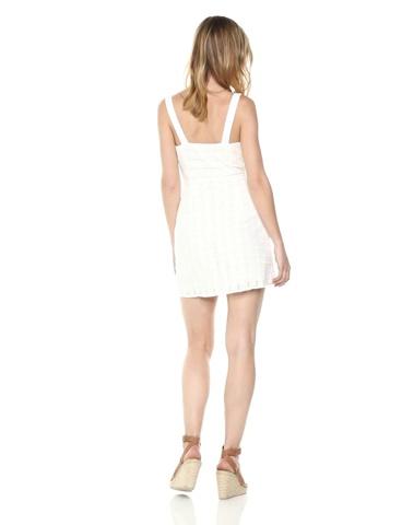For Love & Lemons Women's Hermosa Eyelet Snap Dress
