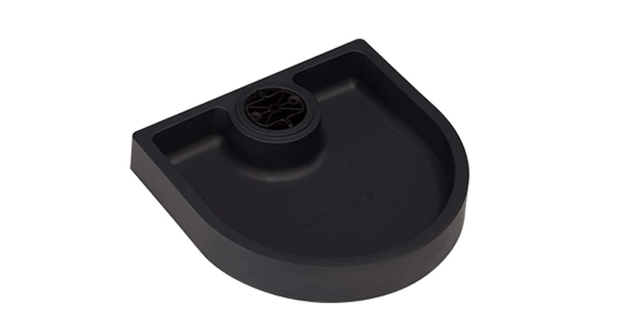 UPLIFT Desk - Small Half Circle Desk Drawer (Black)