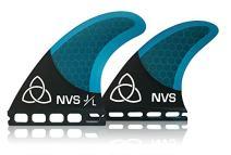 Naked Viking Surf NVS: Medium JL Quad Surfboard Fins (Set of 4) FCS & Futures