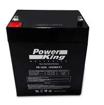 UltraTech UT-1240 12V, 4.5Ah Replacement Sealed Lead Acid Alarm Battery UT1240 ISO9001 Beiter DC Power