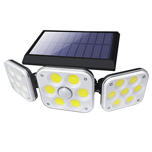 138 LEDs COB Solar LED Light Outdoor Waterproof Powered Sunlight Solar Lamp PIR Motion Sensor Street Light for Garden Courtyard