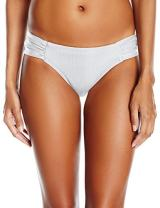 Jets by Jessika Allen Women's Jetset Gathered Side Hipster Bikini Bottom