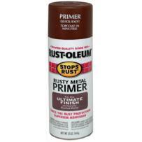 Rust-Oleum 7769830 Stops Rust Spray Paint, 12-Ounce, Flat Rusty Metal Primer