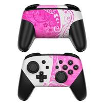 Pink Crush Decalgirl Skin Sticker Wrap Compatible with Nintendo Switch Pro Controller