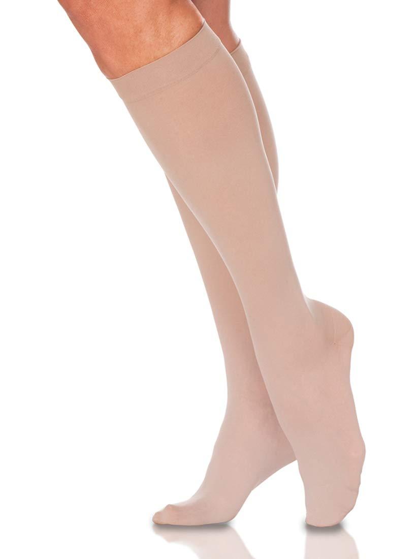 Sigvaris Women's Style Sheer 780 Closed Toe Calf-High Socks 20-30mmHg
