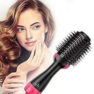 SABUY Hair Dryer Brush ,Hot Air Brush, Electric Blow Dryer Brush, One Step Hair Dryer & Styler,3 in 1 Hair Brush Dryer Styler