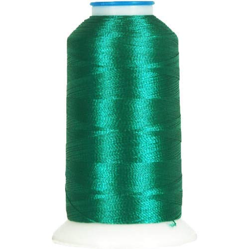 Threadart Polyester Machine Embroidery Thread By the Spool - No. 369 - Hunter - 1000M - 40wt - 220 Colors Available