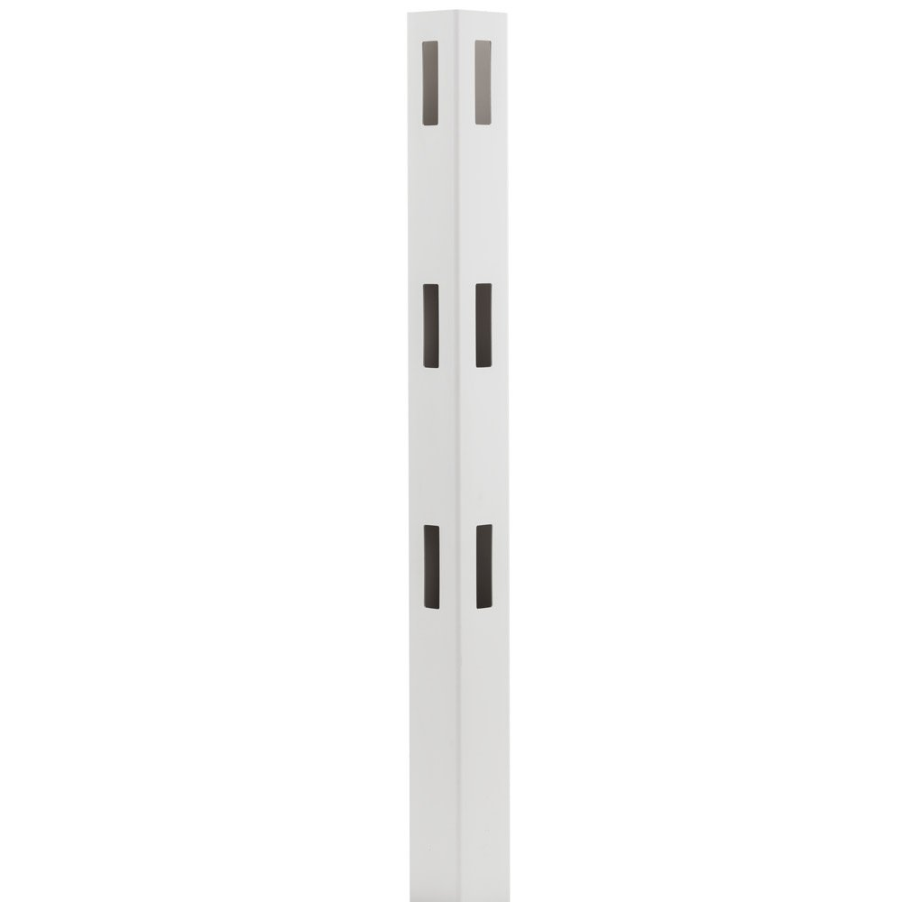 Outdoor Essentials White Vinyl Ranch Fencing (3-Rail Corner Post)