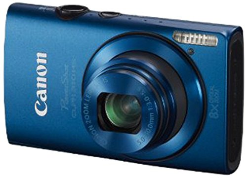 Canon PowerShot ELPH 310 HS 12.1 MP CMOS Digital Camera with 8x Wide-Angle Optical Zoom Lens and Full 1080p HD Video (Blue)