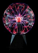 """PowerTRC Non Battery Powered Lightning Plasma Globe 
