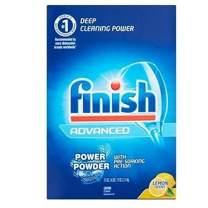Finish Powder, Lemon Fresh, 75-Ounce(Pack of 2)